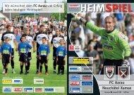 HEIMSPIEL FC Aarau Neuchâtel  Xamax