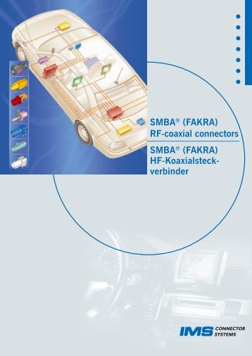 SMBA® (FAKRA) - IMS Connector Systems