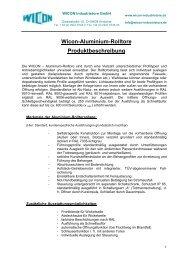 Beschreibung (PDF) - WICON Industrietore GmbH