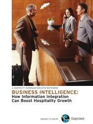 BUSINESS INTELLIGENCE: - Cognizant