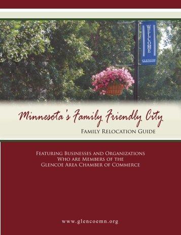 Family Relocation Guide.indd - City of Glencoe, MN & Glencoe ...