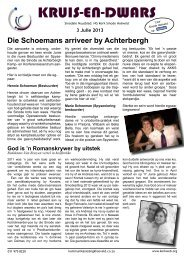 KRUIS-EN-DWARS - Kerkweb.org