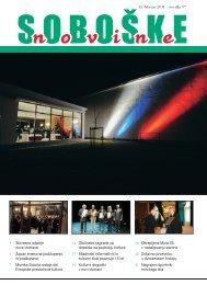 Soboške novine številka 97 ______ 15. feb. 2011