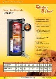 Prospekt - Citrin Solar