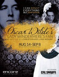 Read or download the Lady Windermere's Fan program. - California ...