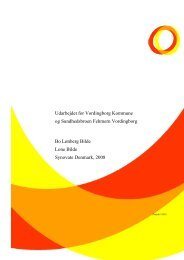 Klik her for at læse Vordingborg Kommunes Sundhedsprofil 2007 ...