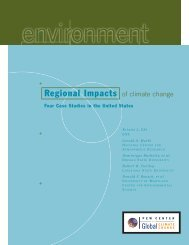 Regional Impacts of climate change - Center for Climate and Energy ...