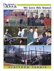 Download Platform Tennis Press Kit - Paddlepro.com