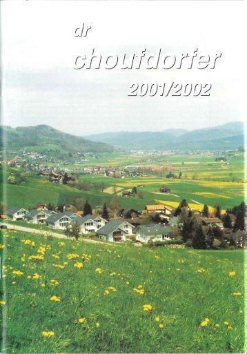 Ausgabe 2001 - VGP Kaufdorf