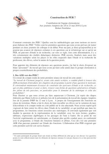 texte contribution clermont.pdf - Educmath