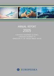 ANNUAL REPORT - ERV