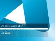 AB konferansen 2012 - NHO