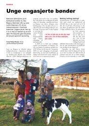 Unge engasjerte bønder - Fagbladet Økologisk Landbruk