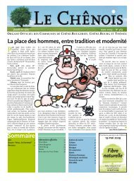 mars 2009 – No 465 - Chêne-Bougeries