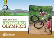 recycled-olympics - Send a Cow