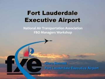 Fort Lauderdale Executive Airport - NATA