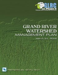 Grand River Watershed Management Plan - Greater Lansing ...