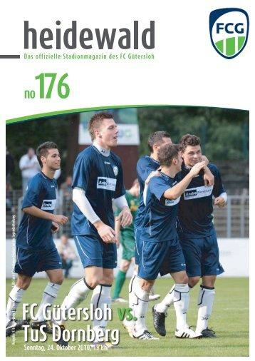 FC Gütersloh vs. TuS Dornberg