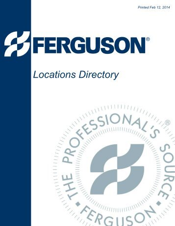 Bon Download PDF   Ferguson Enterprises, Inc.