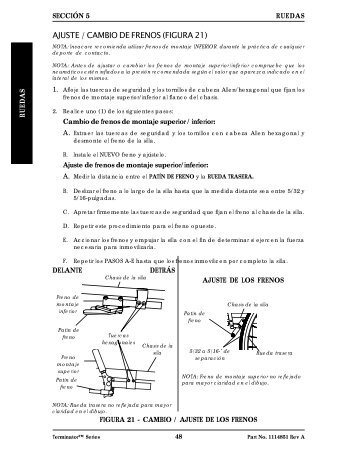 Reposapiés/ Antivuelco / Suspensión / Notas / Garantía - Invacare