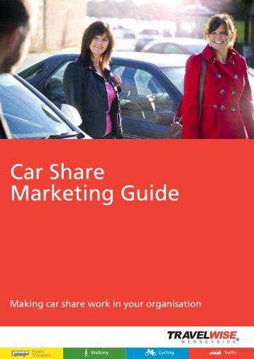 Car Share Marketing Guide