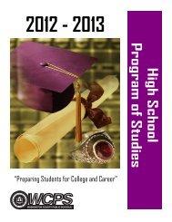 2012-2013 Program of Studies - Washington County, MD Public ...