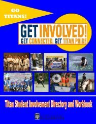 step 4: reflect on your involvement - California State University ...