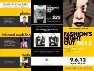 photos informal modeling music - Santana Row