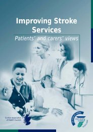 Improving stroke services: Patients' and carers' views - Chest Heart ...