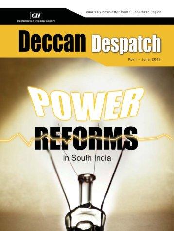 April - June 2009 | Deccan Despatch | 1 - CII