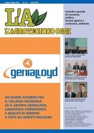 L'Agrotecnico Oggi giugno/luglio 07 - Collegio Nazionale degli ...