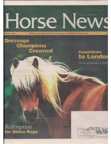 Horse News - July 2012 - Phelps Media Group