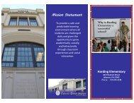 Mission Statement Harding Elementary - Lebanon School District