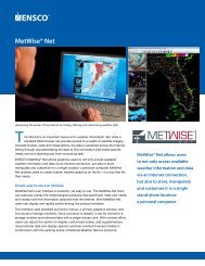 MetWise® Net – Weather Forecasting Support Tool (PDF)