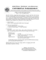 BA-Hasil Lelang KKN - Procurement - Universitas Padjadjaran