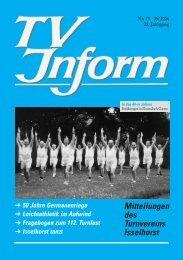 TV Inform Nr.78_3 - Turnverein Isselhorst v. 1894 eV