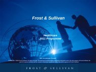 Title Slide (Title Here) - Growth Consulting - Frost & Sullivan
