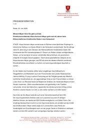 Mensch Meyer! - Ritterschaftliches Kreditinstitut Stade