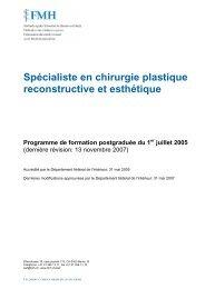 Spécialiste en chirurgie plastique reconstructive et esthétique ...