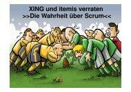 Microsoft PowerPoint - itemis_xing_SCRUM [Kompatibilit ... - itemis AG