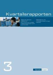 Kvartalsrapporten - Danske Invest