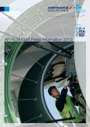 AFI KLM E&M Press Information 2013 - Air France Industries KLM ...