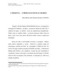 A MESQUITA - O BERÇO DAS ESCOLAS ÁRABES