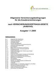 AVB/VVG - mediservice vsao-asmac