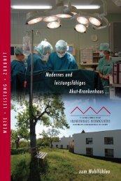 Modernes und leistungsfähiges Akut-Krankenhaus ... - ECCSW