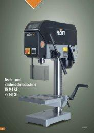 Produktblatt TB M1 ST herunterladen (.pdf, 0.12MB) - Flott