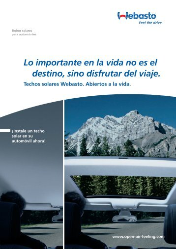 Lo importante en la vida no es el destino, sino disfrutar del viaje.