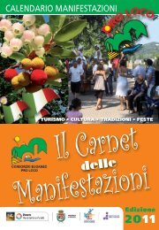 CALENDARIO MANIFESTAZIONI - UNPLI Veneto