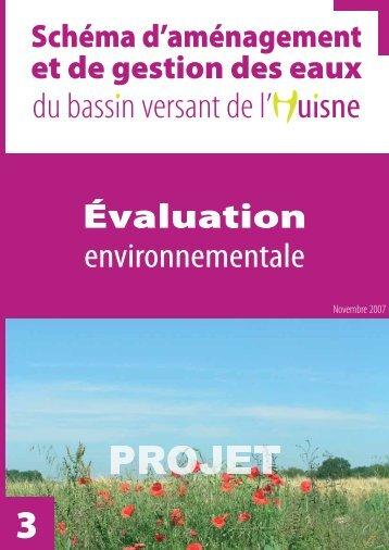 Évaluation environnementale - (SAGE) du bassin de l'Huisne