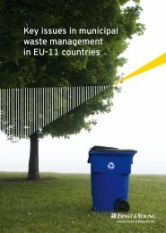Key issues in municipal waste management in EU ... - Ernst & Young